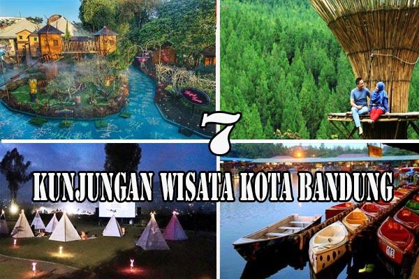 7 Kunjungan Wisata Kota Bandung